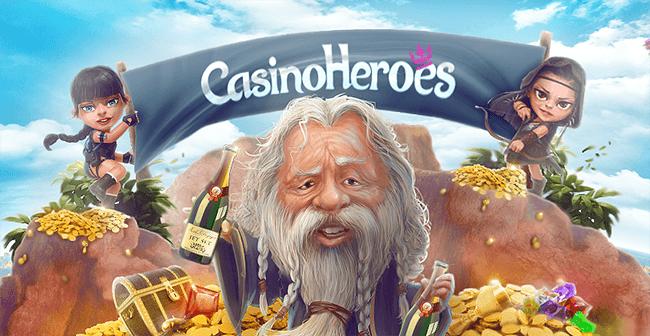 Casino Heroes kuvakaappaus