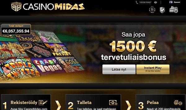 Casino Midas nettikasino