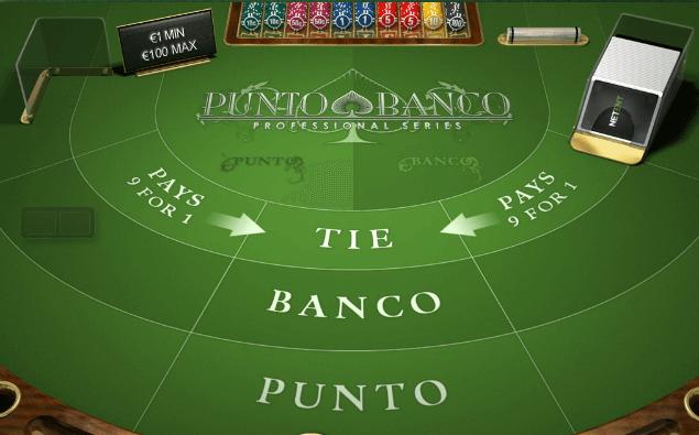 Punto Banco netissä