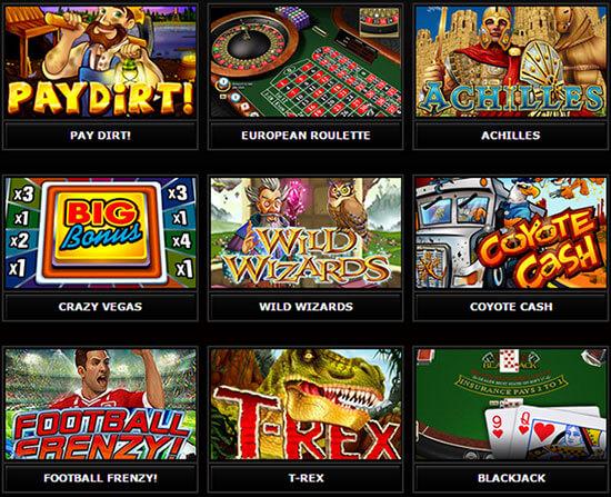 Casino Midas kasinopelit
