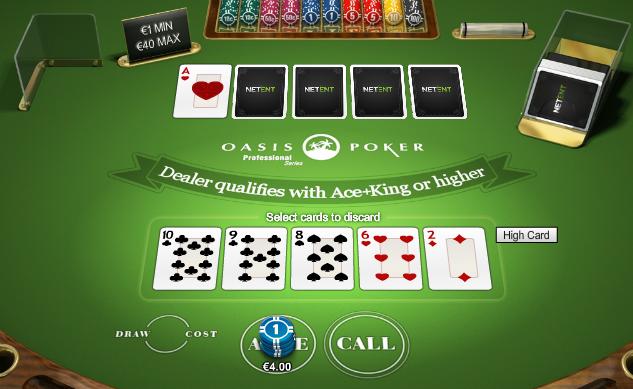 Pokeri pöytäpeli