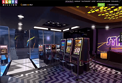 Virtuaalitodellisuus kasinot