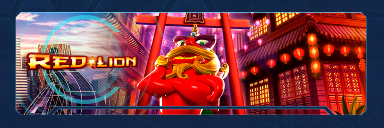 Spintropolis Red Lion kolikkopeli
