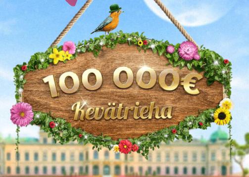 Mr Greenin 100 000 euron kevätrieha