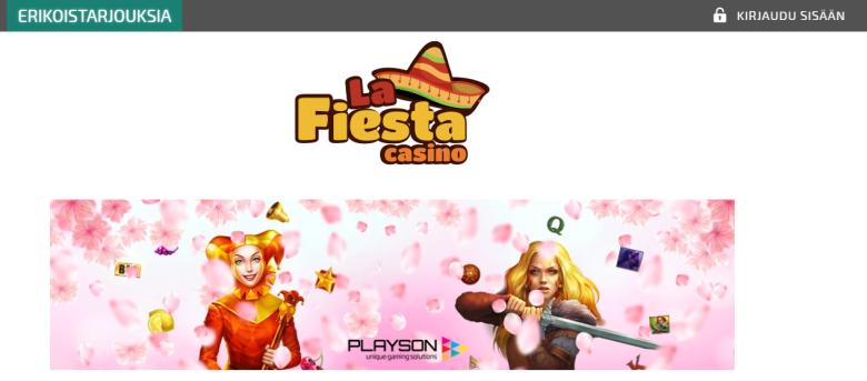 La Fiesta Casinon keväinen kampanja