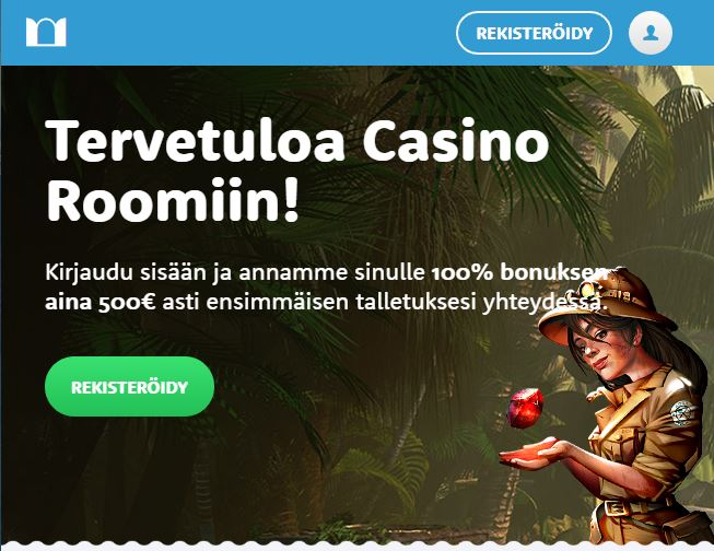 Casino Room - tervetuloetu