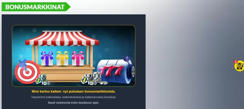 Casino1 - bonusmarkkinat