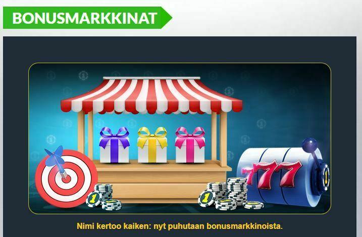 Casino1 ja bonusmarkkinat