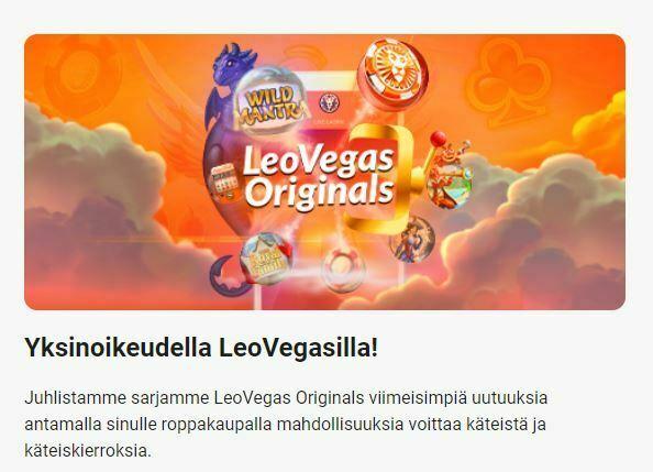 LeoVegas - 45 000 euron palkinnot