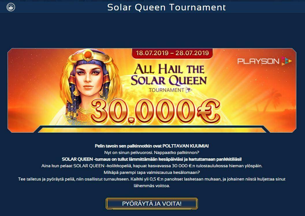 spintropolis - 30 000 euron kampanja