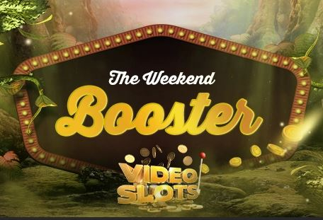 Videoslots - Weekend Booster