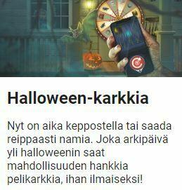 LeoVegas jakaa nyt Halloween-karkkia