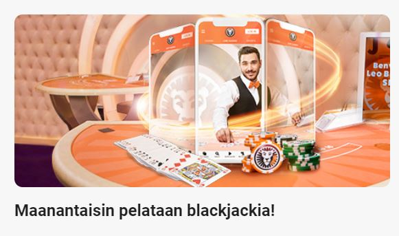 LeoVegas - maanantain Blackjack