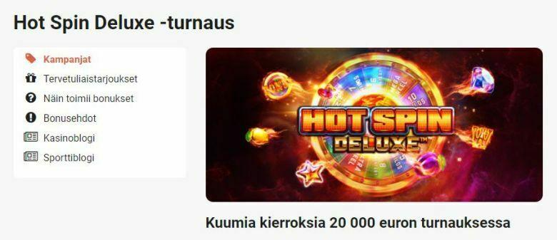 LeoVegas - 20 000 euron turnaus