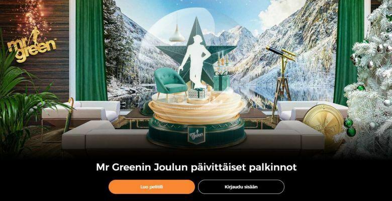 Mr Green jakaa 47 päivänä 1 000 000 euron edestä palkintoja