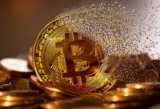 Bitcoin kolikko